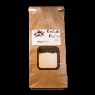 Produktbild von wholyfood: Eine Packung Baobab Pulver