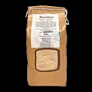 Produktbild von wholyfood: Eine Packung Braunhirse
