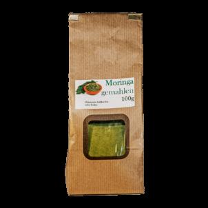 Produktbild von wholyfood: Eine Packung Moringa Pulver