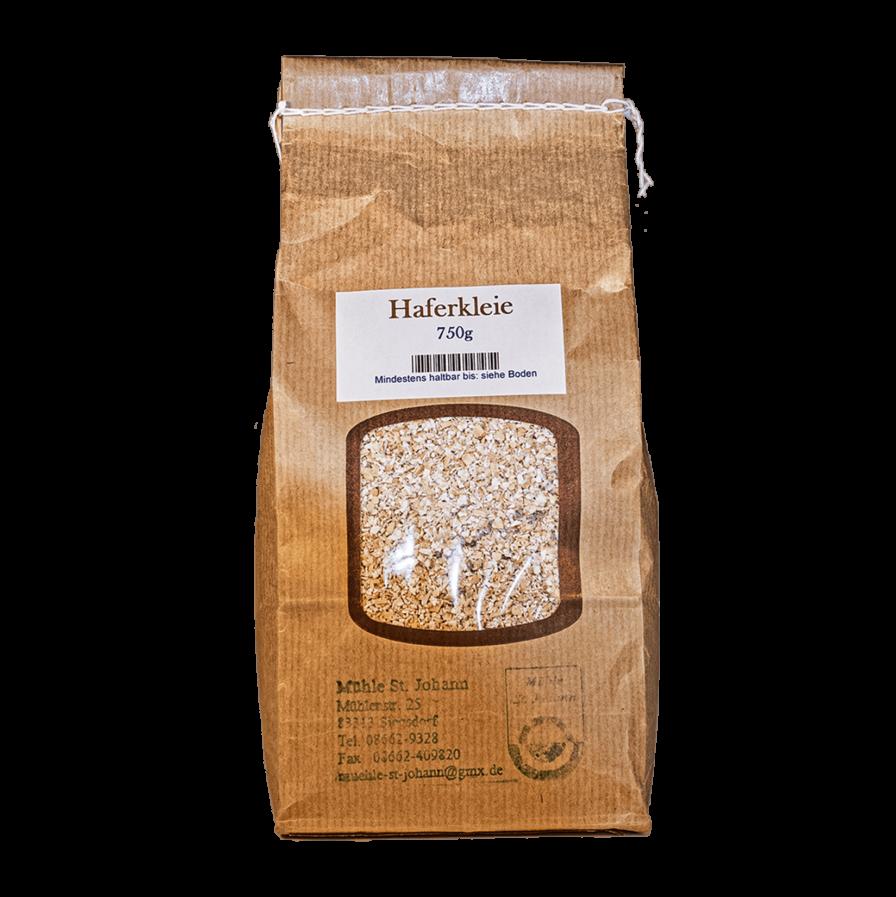 Produktbild von wholyfood: Eine Packung Haferkleie