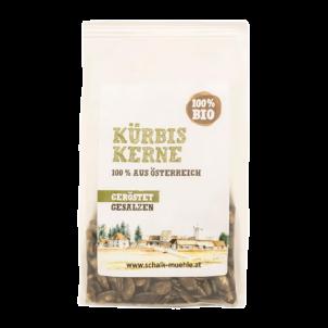 Produktbild von wholyfood: Eine Packung Kürbiskerne von der Mühle Schalk
