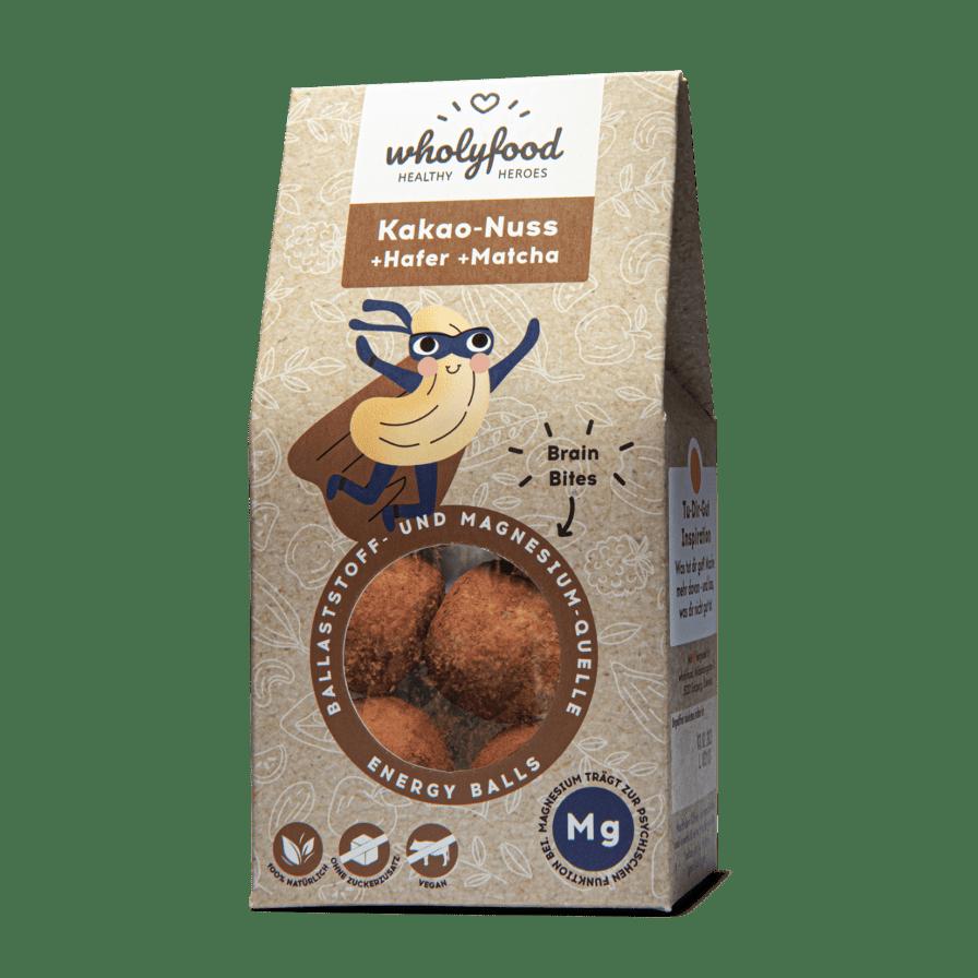 Energy Balls Packung Kakao-Nuss